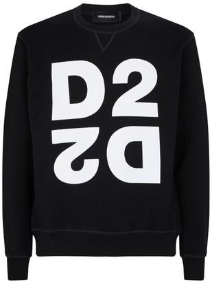 DSQUARED2 Mirrored Logo Sweatshirt