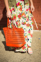 Street Level Coral Cutout Tote