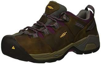 Keen Women's Detroit XT Low Steel Toe Waterproof Work Shoe