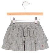 Petit Bateau Girls' Tiered Flare Skirt