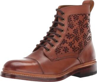 Stacy Adams Men's M2 Cap-Toe Lace up Boot Ankle