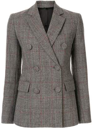 Helmut Lang Prince of Wales check blazer