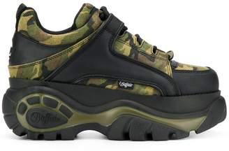 Buffalo David Bitton camouflage platform sneakers