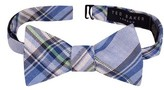 Ted Baker Men's Swanky Plaid Linen & Cotton Bow Tie