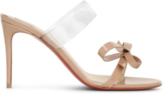 Christian Louboutin Just Nodo 85 patent sandals