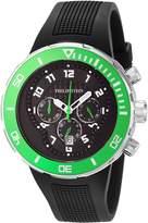 Philip Stein Teslar Men's 33-XGRN-RB Active Extreme Analog Display Japanese Quartz Watch