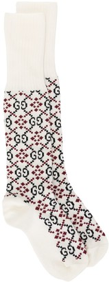 Gucci GG Diamond socks