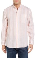 Tommy Bahama Pintado Stripe Linen Sport Shirt (Big & Tall)