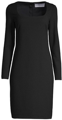 HUGO BOSS Dineka Houndstooth Jersey Dress