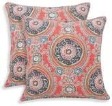 Essentials 2pk Tamariz Printed Medallion Throw Pillow