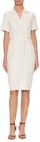 Max Mara Peccati Cotton Striped Sheath Dress