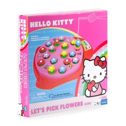 Hello Kitty Pressman Toys Let's Pick Flowers Game