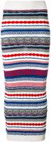 Laneus long knitted skirt - women - Polyester/Viscose - 42