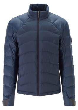 BOSS Link quilted down jacket in water-repellent fabric