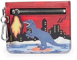 Paul Smith Dino Print Zip Wallet