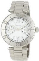 Freelook Women's HA1333CHM-9 Linea Tempo Stainless-Steel with White Dial Watch