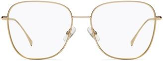 Fendi Eyewear Oversize Square Frame Glasses