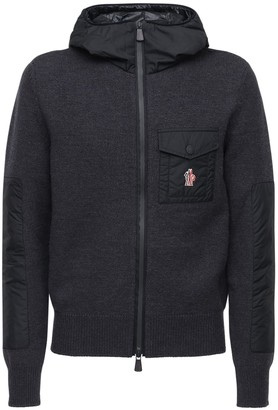 MONCLER GRENOBLE Wool Tricot Knit Sweater