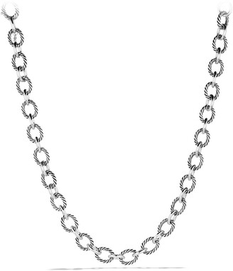 David Yurman 'Oval' Large Link Necklace