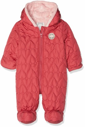 Sanetta Baby Girls' Outdooroverall Footies