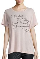 Wildfox Couture Drunk Text T-Shirt