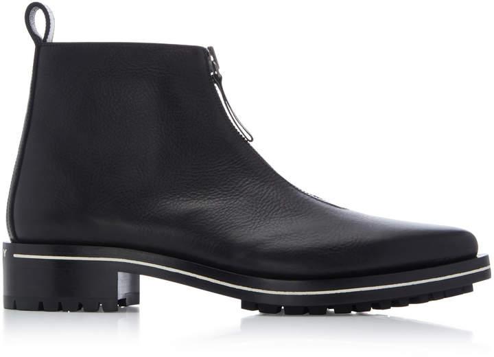 Givenchy Richmond Zip Calfskin Chelsea Boots