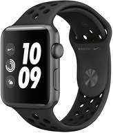 Apple Watch Nike+ Series 3 (2018 GPS), 42mm Space Grey Aluminium Case With Anthracite/Black Nike Sport Band