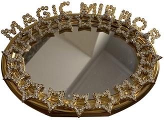 Benedetta Bruzziches Gold Metal Clutch bags