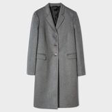 Paul Smith Women's Grey Wool-Cashmere Epsom Coat