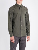 Michael Kors Slim-fit button-down cotton shirt