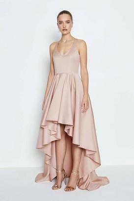 Coast Satin High Low Maxi Dress