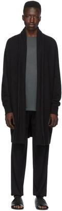 Frenckenberger Black Cashmere Cardigan
