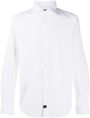 Fay Long-Sleeved Button-Down Shirt