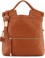 Foley + Corinna Mid-City Fold-Over Tote Bag, Honey Brown