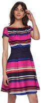 Elle Women's ELLETM Print Fit & Flare Dress