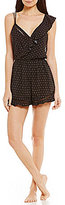 Free People Intimately FP One of These Days Ruffled Open-Back Lounge Romper