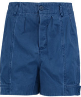 Marc by Marc Jacobs Pleated Cotton-Blend Twill Shorts