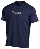 Under Armour Men's Houston Texans Combine Authentic Raid Novelty T-Shirt