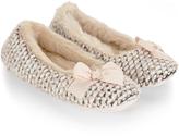 Monsoon Antoinette Ballerina Slippers