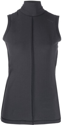 Ganni Light Stretch Jersey Vest Top
