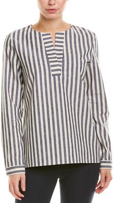 Lafayette 148 New York Joan Linen-Blend Tunic