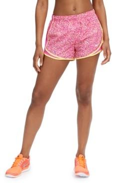 Nike Women's Icon Clash Dri-fit Printed Tempo Running Shorts