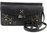 Danielle Nicole Raine Crossbody Women Synthetic Black Messenger.