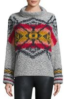 Free People Arctic Blast Intarsia Sweater