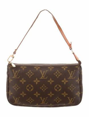 Louis Vuitton Monogram Pochette Accessoires tan