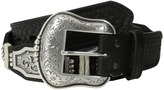 Ariat Scalloped Belt w/ Rectangle Floral Concho
