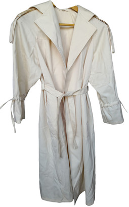 Sportmax Beige Wool Trench coats
