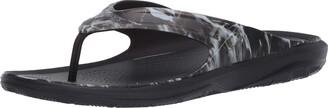 Crocs Men's Swiftwater Veil Whitetail Wave Flip Flop|Summer Sandal|Beach Shoe