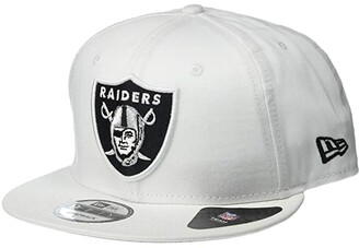 New Era NFL Basic Snap 9FIFTY(r) Snapback Cap - Las Vegas Raiders (White) Caps