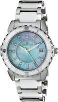 Oceanaut Women's OC2410 Charm Analog Display Swiss Quartz Two Tone Watch